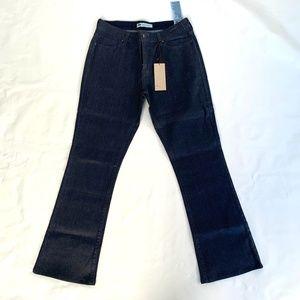 Levis coated jeans bootcut skinny slim fit dark 31